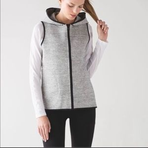 lululemon insculpt vest hooded